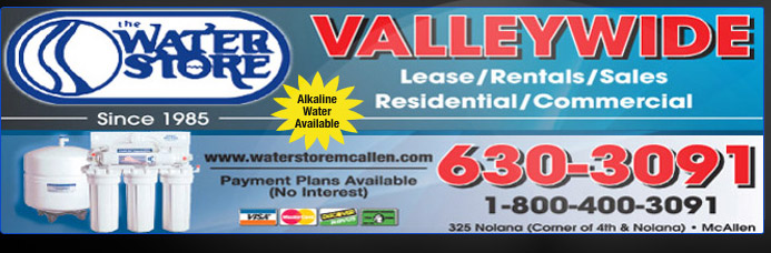 The Water Store in McAllen - Delivering Safe Healthy Water to Your Home or Office